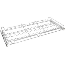 Sidelines 5WSCR-30CR-1 30 in Deluxe Sliding Spice/Can Rack - Chrome