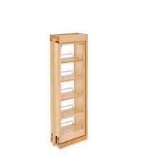 Rev-A-Shelf 432-WF36-6C 6 in. W x 36 in. H Pull-Out Between Cabinet Wall Filler - Natural