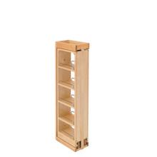 Rev-A-Shelf 432-WF39-6C 6 in. W x 39 in. H Pull-Out Between Cabinet Wall Filler - Natural