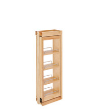 Rev-A-Shelf 432-WFBBSC33-6C 6 in. W x 33 in. H Pull-Out Between Cabinet Wall Filler w/Soft-Close - Natural