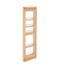 Rev-A-Shelf 432-WFBBSC42-3C 3 in. W x 42 in. H Pull-Out Between Cabinet Wall Filler w/Soft-Close - Natural