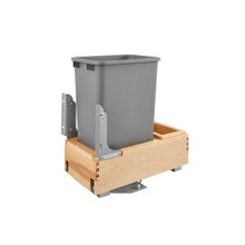 Rev-A-Shelf 4WCBM-1550DM-1 50 Qrt Pull-Out Waste Container - Natural
