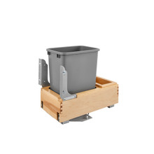 Rev-A-Shelf 4WCBM-15DM-1 35 Qrt Pull-Out Waste Container - Natural