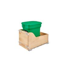 Rev-A-Shelf 4WCSC-CKGR-1 Pull-Out Green Compost bin - Natural