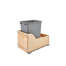 Rev-A-Shelf 4WCSD-1535DM-1 Servo 35 Qrt Pull-Out Waste Container - Natural