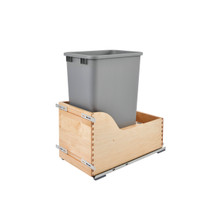 Rev-A-Shelf 4WCSD-1550DM-1 Servo 50 Qrt Pull-Out Waste Container - Natural