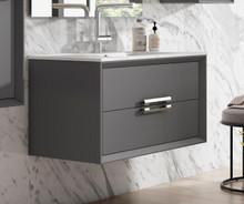 Lucena Bath 4259 32 Inch Grey Décor Tirador Vanity