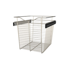 Rev-A-Shelf CB-182018SN-1 18 in Satin Nickel Closet Pullout Basket