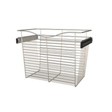 Rev-A-Shelf CB-241418SN-1 24 in Satin Nickel Closet Pullout Basket