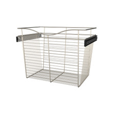 Rev-A-Shelf CB-241618SN-1 24 in Satin Nickel Closet Pullout Basket