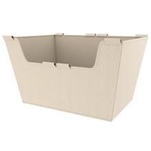 Rev-A-Shelf CBLSL-181410-T-1 Tan Basket Liner for Sidelines Closet Basket