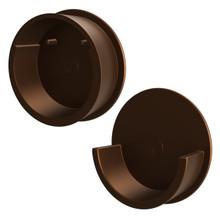 Rev-A-Shelf CRCSL-BZ-1 Bronze Closet Rod End Caps Only