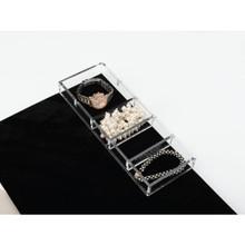 Rev-A-Shelf CA-SMORG-1 Acrylic Jewelry/Watch Organizer - Clear