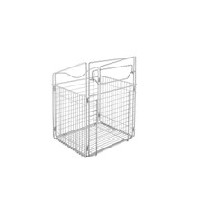 Rev-A-Shelf CTOHB-161319-CR-52 Closet Tilt Out Hamper Basket (Chrome)