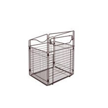 Rev-A-Shelf CTOHB-161319-ORB-52 16 in Oil Rubbed Bronze Tilt Out Hamper Basket