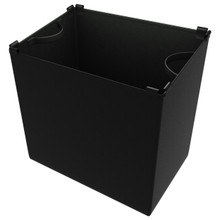 Rev-A-Shelf CTOHB-21-I-1 21 in Single cloth Insert for Tilt Out Hamper - Black