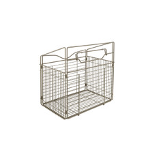 Rev-A-Shelf CTOHB-211319-SN-52 21 in Satin Nickel Tilt Out Hamper Basket