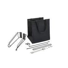 Rev-A-Shelf CTOHSL-18-1 18 in Cloth Tilt Out Hamper - Black