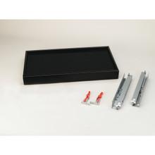 Rev-A-Shelf CVJD-3014UM-1 30 in Black Large Undermount Jewelry Drawer