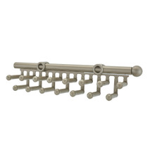 Rev-A-Shelf CTR-14-SN 14 in Satin Nickel Tie/Scarf Rack