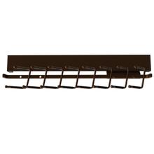 Rev-A-Shelf CTRSL-14-BZ-1 14 in Deluxe Slide Out Tie Rack - Bronze