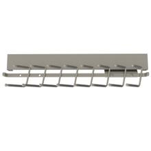 Rev-A-Shelf CTRSL-14-SN-1 14 in Deluxe Slide Out Tie Rack - Satin Nickel