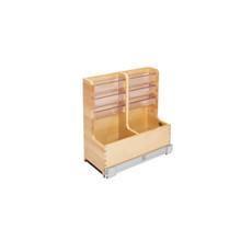 Rev-A-Shelf 441-12VSBSC-1 24 in Wood Vanity Sink Base Storage Organizer - Natural