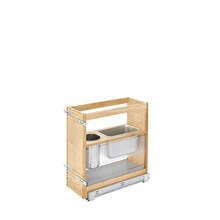 Rev-A-Shelf 445-VCG20-8 20 in x 8 in Vanity Grooming Organizer - Natural