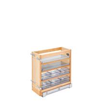 Rev-A-Shelf 448-VC20SC-8 8 in W X 20 in H Wood Vanity Base Organizer w/Soft-Close - Natural
