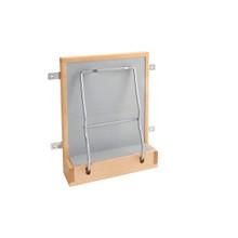 Rev-A-Shelf 4SH-15-1 Vanity Door mount w/Soft-Closeale Holder - Natural