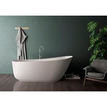 Vanity Art 67 in. Matte Solid Surface Freestanding Bathtub