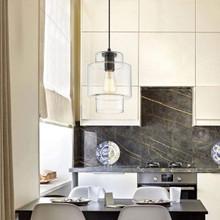Vanity Art Belfort 1-Light Black Pendant with Glass Globe Shade