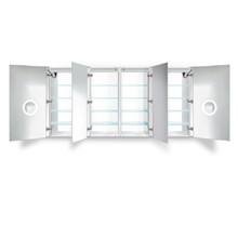 Krugg Svange LED Medicine Cabinet 84 inch X 42 inch with Dimmer & Defogger 8442DLLRR