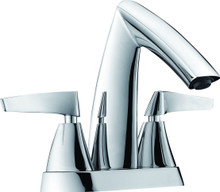 ALFI AB1003-PC Polished Chrome Two-Handle 4'' Centerset Bathroom Faucet