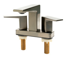 ALFI AB1020-BN Brushed Nickel Two-Handle 4'' Centerset Bathroom Faucet