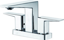 ALFI AB1020-PC Polished Chrome Two-Handle 4'' Centerset Bathroom Faucet