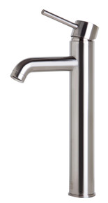 ALFI AB1023-BN Tall Brushed Nickel Single Lever Bathroom Faucet