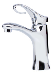 ALFI AB1295-PC Polished Chrome Single Lever Bathroom Faucet