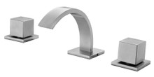 ALFI AB1326-BN Brushed Nickel Modern Widespread Bathroom Faucet