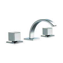 ALFI AB1326-PC Polished Chrome Modern Widespread Bathroom Faucet