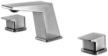 ALFI AB1471-BN Brushed Nickel Modern Widespread Bathroom Faucet