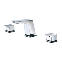 ALFI AB1471-PC Polished Chrome Modern Widespread Bathroom Faucet