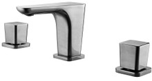 ALFI AB1782-BN Brushed Nickel Widespread Modern Bathroom Faucet