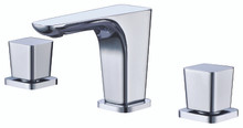 ALFI AB1782-PC Polished Chrome Widespread Modern Bathroom Faucet