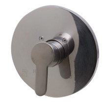 ALFI AB3001-BN Brushed Nickel Shower Valve Mixer with Rounded Lever Handle