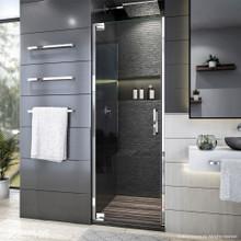 DreamLine Elegance Plus 34-34 1/2 in. W x 72 in. H Frameless Pivot Shower Door in Chrome