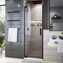 DreamLine Elegance Plus 34-34 1/2 in. W x 72 in. H Frameless Pivot Shower Door in Oil Rubbed Bronze
