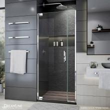 DreamLine Elegance Plus 34-34 3/4 in. W x 72 in. H Frameless Pivot Shower Door in Chrome