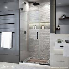 DreamLine Elegance Plus 39 3/4 - 40 1/2 in. W x 72 in. H Frameless Pivot Shower Door in Satin Black