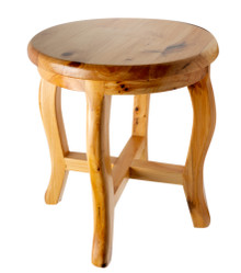 "ALFI AB4406 11"" Cedar Wood Round Stool Multi-Purpose Accessory"